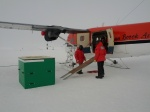 Twin Otter and the base of th EM